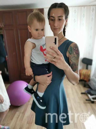 """Анастасия Алексеева с сыном. Фото предоставлено героиней публикации, """"Metro"""""""