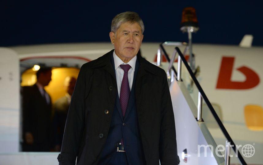 Алмазбек Атамбаев. Фото Getty