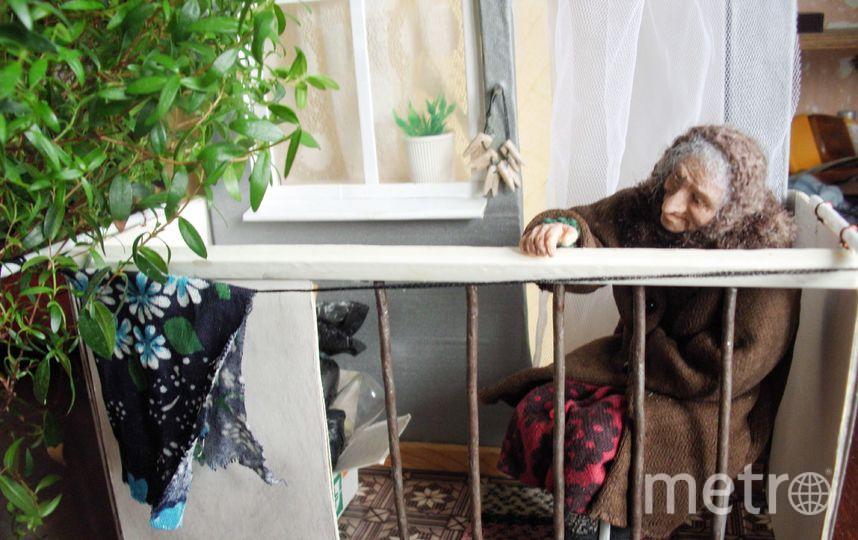 На балконе. Фото предоставлено Ириной Верхградской