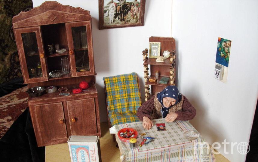Разговор с внучкой. Фото предоставлено Ириной Верхградской