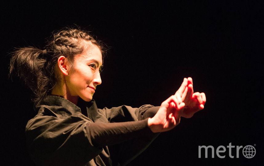 """Японская танцовщица Юи Кавагучи. Фото Святослава Акимова, """"Metro"""""""