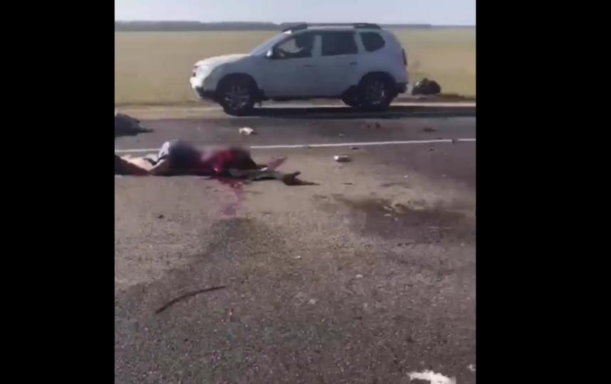 На Кубани произошла страшная лобовая авария. Фото Все - скриншот YouTube