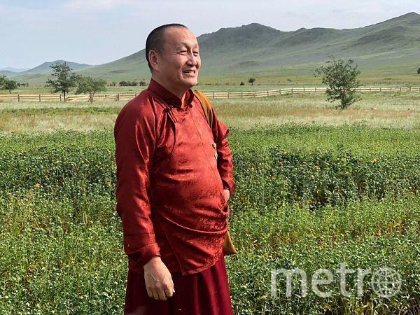 Хамбо лама Дамба Аюшеев. Фото пресс-служба Буддийской традиционной Сангхи России