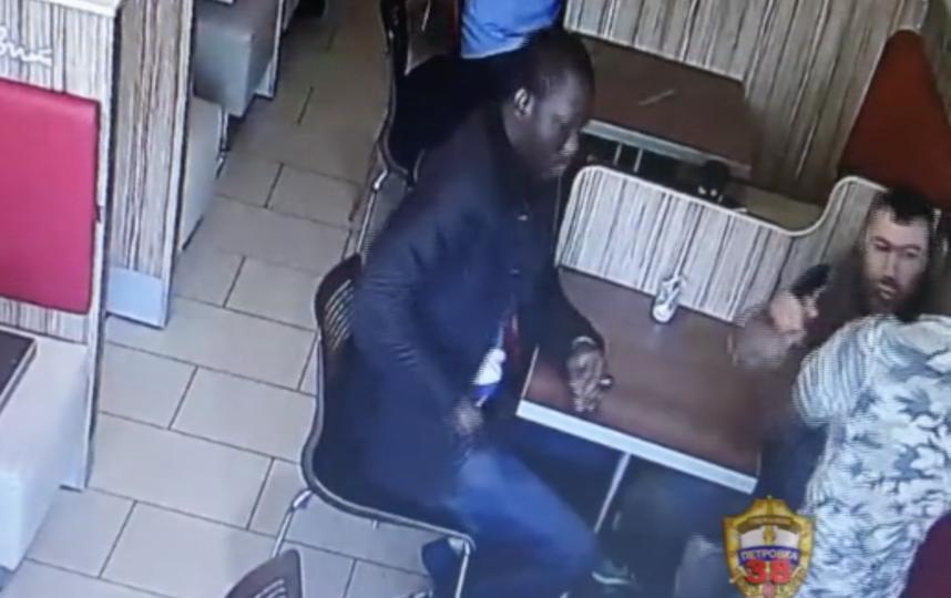 скриншот видео с места инцидента. Фото Пресс-служба УВД по ВАО