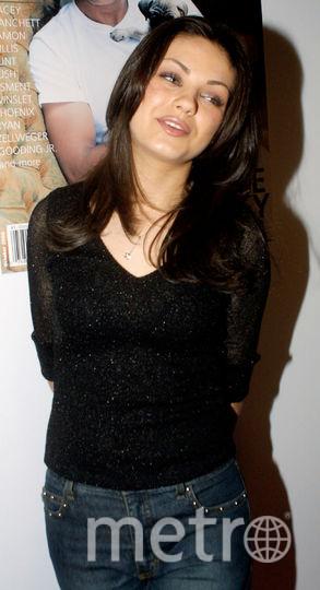 Мила Кунис в начале карьеры. Фото Getty
