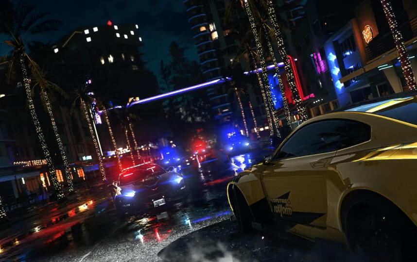 Выход Need for Speed: Heat намечен на 8 ноября 2019 года. Фото Скриншот @Need for Speed