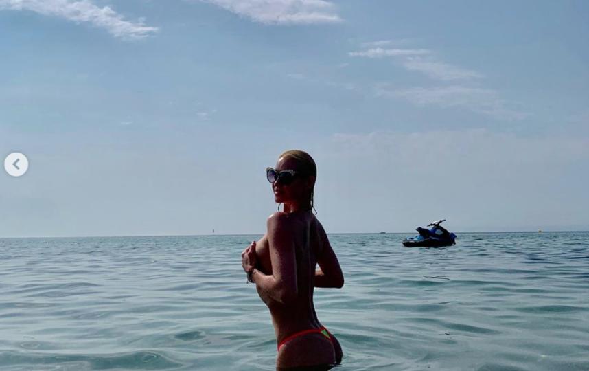 "2 августа балерина уже делилась ""горячими фото"". Фото Instagram.com/volochkova_art"