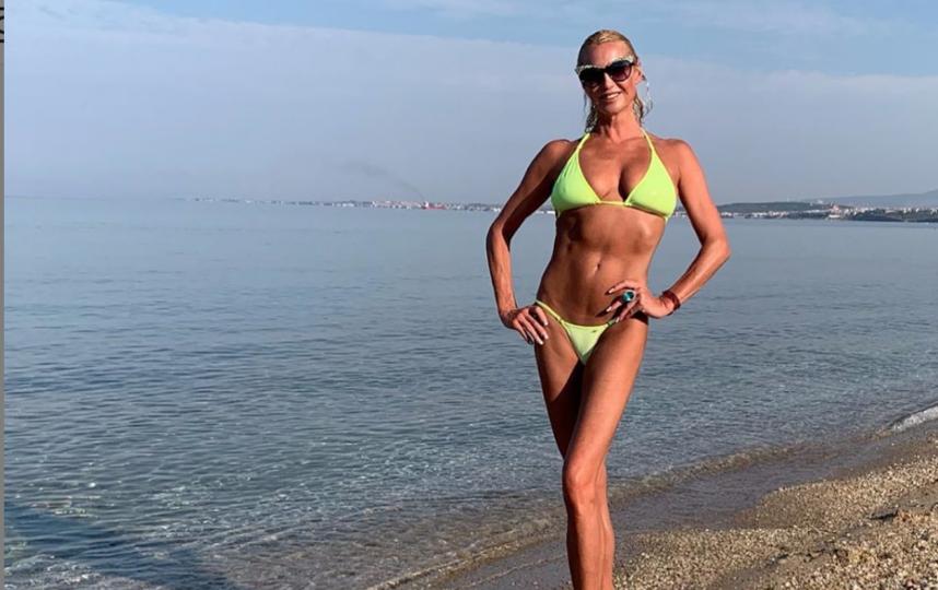 Волочкова на отдыхе в Греции, август 2019. Фото Instagram.com/volochkova_art