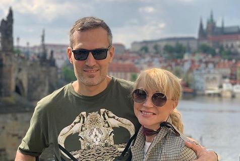 Кристина Орбакайте и Михаил Земцов.