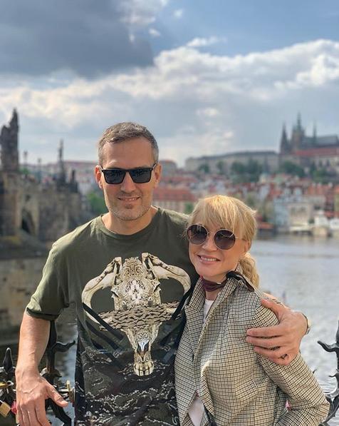 Кристина Орбакайте и Михаил Земцов. Фото скриншот: instagram.com/orbakaite_k/