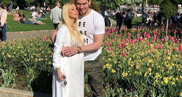 Лера Кудрявцева и Игорь Макаров.