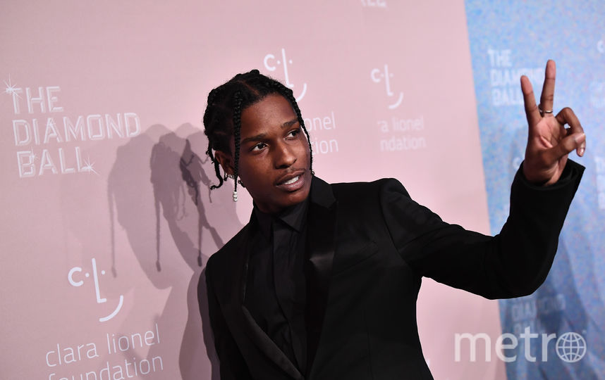 Рэпер ASAP Rocky. Фото Getty