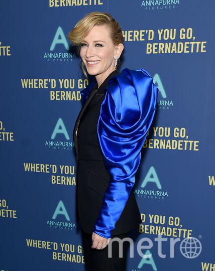 "Кейт Бланшетт на премьере фильма ""Куда ты пропала, Бернадетт?"". Фото Getty"