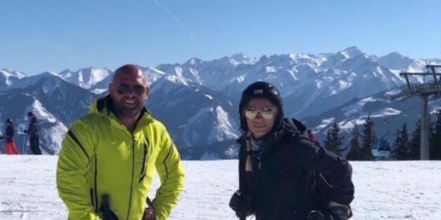 Алина (27 лет) и Арно Роджер Уилли (37 лет).