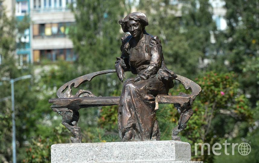 "Памятник Раневской. Фото Святослав Акимов, ""Metro"""