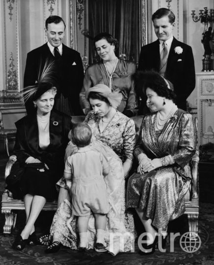 Крестины принцессы Анны, октябрь 1950 года. Фото Getty