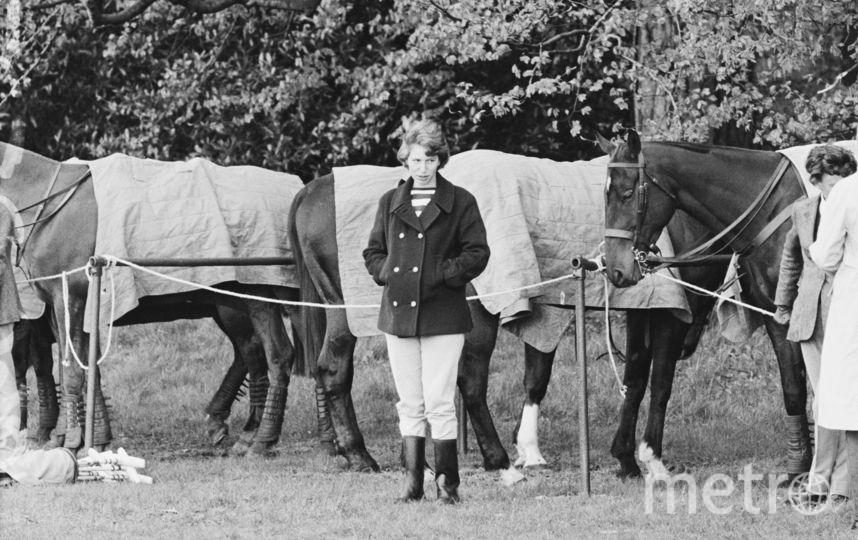 Принцесса Анна в мае 1966 года (принцессе 16 лет). Фото Getty