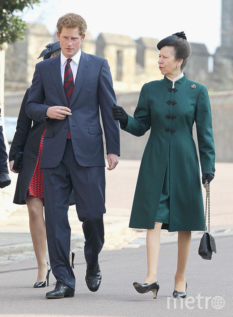 С племянником принцем Гарри, 2012-йгод. Фото Getty