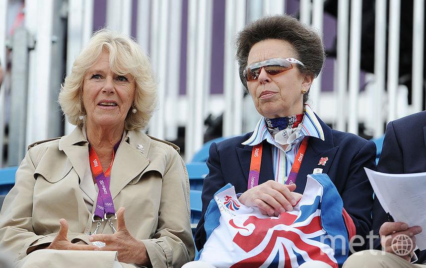 С Камиллой, супругой принца Чарльза, 2012й год. Фото Getty