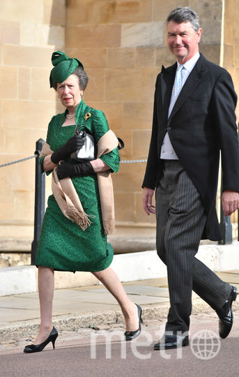 Принцесса Анна и ее второй супруг Тимоти Лоренс. Фото Getty