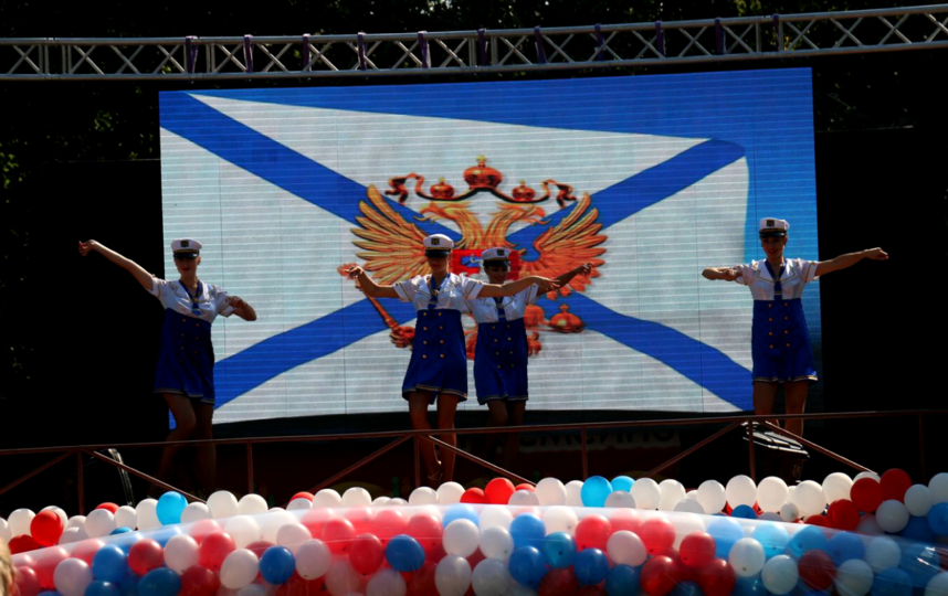 День российской тельняшки. Фото Предоставлено организаторами