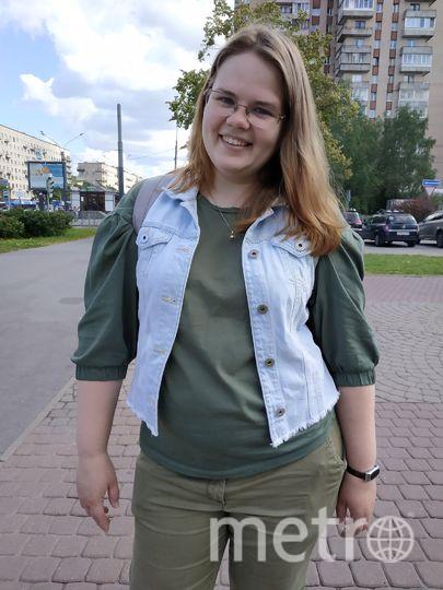 """Евгения, художник, 29 лет. Фото Наталья Сидоровская, """"Metro"""""""