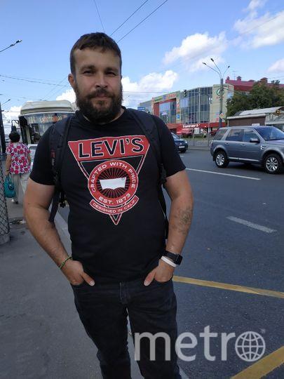 """Евгений, 41 год, фотограф. Фото Наталья Сидоровская, """"Metro"""""""