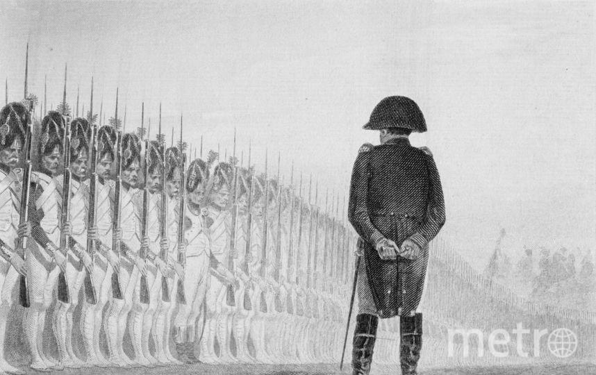 Рисунок с Наполеоном. Фото Getty