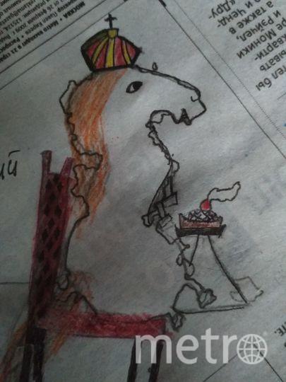 """""""Это королевский конь, его зовут Поня. Поня очень любит пироги"""". Фото Анна Соловьёва, """"Metro"""""""