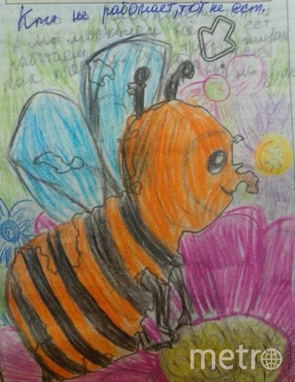 """""""Кто не работает, тот не ест. Это Московская пчёлка"""". Фото Татьяна Пронина, """"Metro"""""""