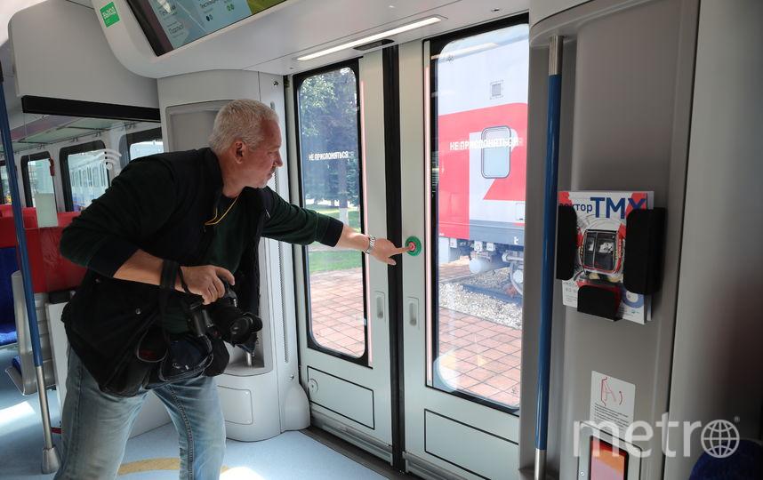 Двери стали более широкими, 140 сантиметров. Фото пресс-службы Департамента транспорта Москвы