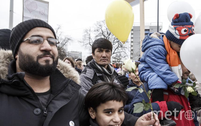 За последние годы Германия приняла около 780 тысяч сирийцев. Фото Getty