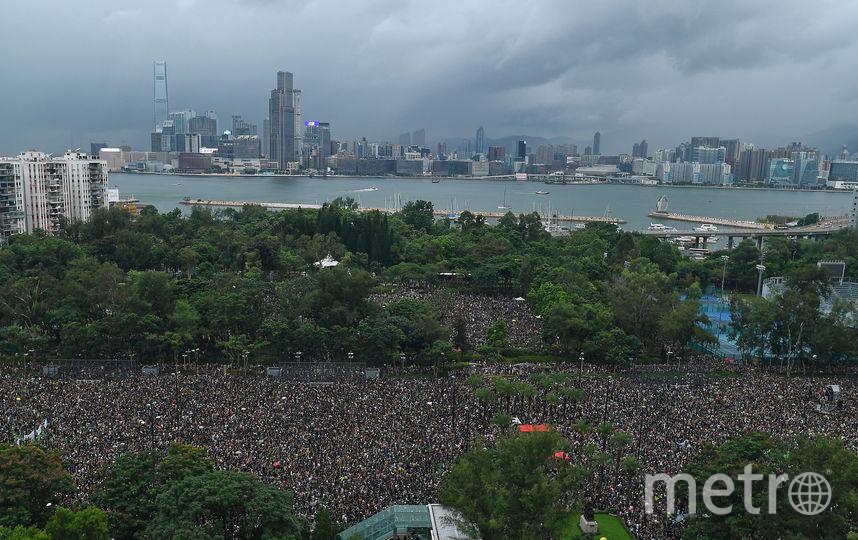По данным организаторов, в марше приняли участие 1,7 млн человек. Фото AFP