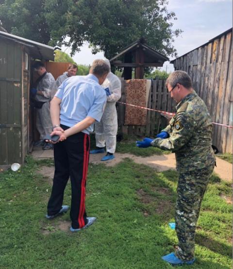 На месте происшествия под Ульяновском работают следователи. Фото https://sledcom.ru/news/item/1382652/