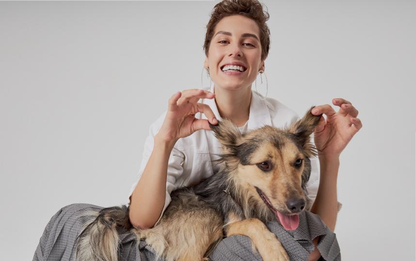 Проект #СобакаТренер поддержали многие отечественные звёзды, в том числе и актриса Ирина Горбачёва. Фото  trener.mydreammama.ru
