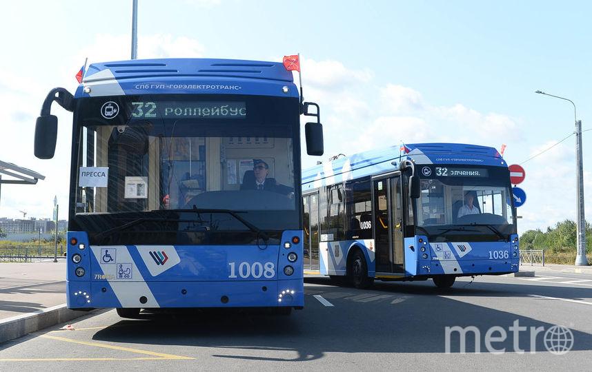 """В Красносельском районе продлили популярный маршрут № 32 - теперь здесь ходят электробусы. Фото Святослав Акимов., """"Metro"""""""