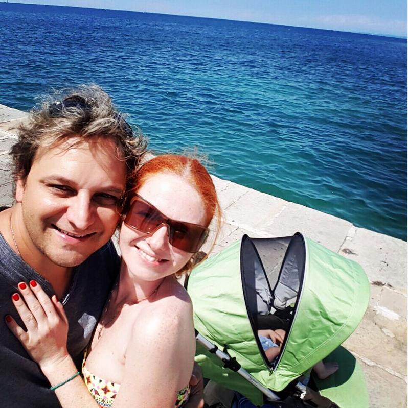 Лена Катина и Сашо Кузманович. Фото Скриншот Instagram: @juliavysotskayaofficial