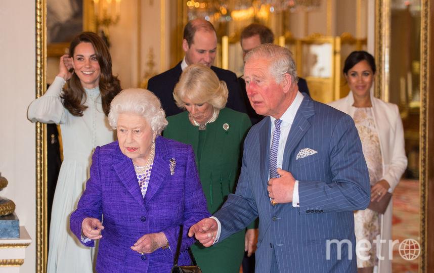 Встреча в Букингемском дворце. 5 марта 2019. Фото Getty