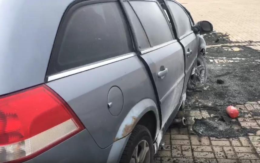 Серьезное ДТП произошло перед съездом на Приморское шоссе в сторону Кронштадта. Фото https://vk.com/spb_today