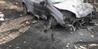 Влетел в отбойник: водителя после страшного ДТП в Петербурге эвакуировал вертолет