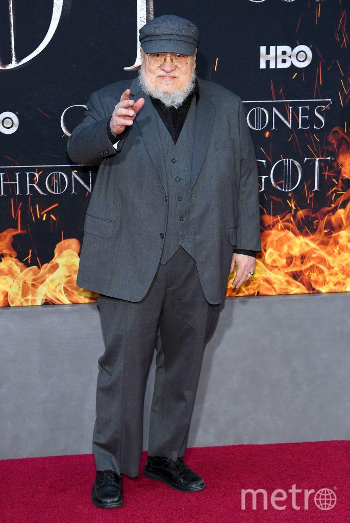 Писатель Джордж Мартин. Фото Getty