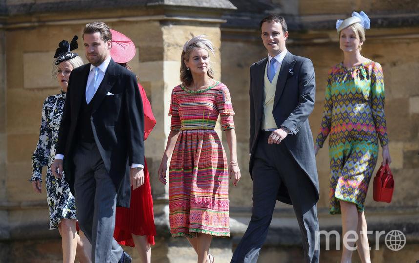 Крессида Бонас на свадьбе принца Гарри и Меган Маркл. Фото Getty