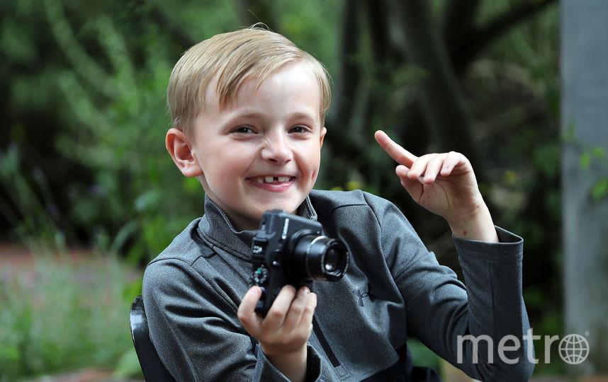 9-летний Джош Эванс. Фото Getty