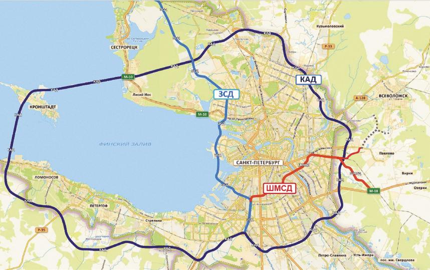 """Будущая магистраль скоростного движения на карте города и схема строительства новой переправы. Фото презентация проекта, """"Metro"""""""