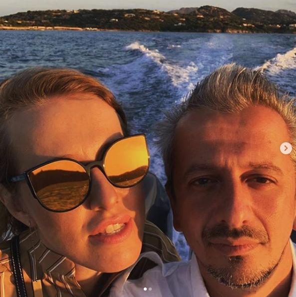Константин Богомолов и Ксения Собчак. Фото https://www.instagram.com/konbog75/?hl=ru