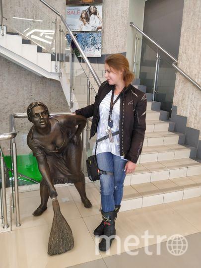 """Я решила проверить, действительно ли скульптура исполняет желания, и загадала самое заветное. Фото Ольга Кабанова, """"Metro"""""""