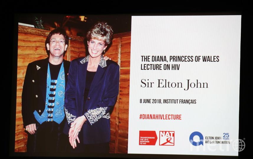 Элтон Джон и принцесса Диана. Концерт в память леди Ди. Фото Getty