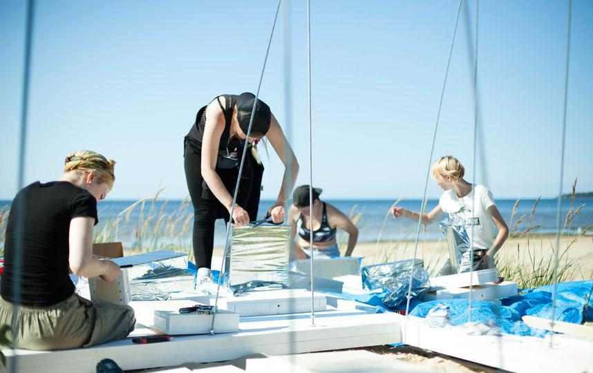 В городе Сосновый Бор прошла первая в России Неделя пляжной урбанистики. Фото предоставлено организаторами.