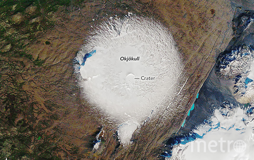 Ледник Окйекудль в 1986 году. Фото AFP