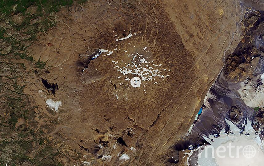 Ледник Окйекудль в 2019 году. Фото AFP
